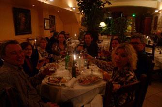 Ресторан итальянской кухни «Фелини» для французских гурманов.
