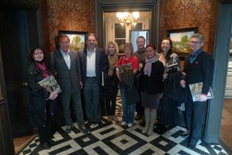 Наша группа с владельцем фамильного предприятия господином de Jonckheere