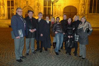 Вечерняя прогулка по Брюгге после ужина в ресторане Breydel De Coninc