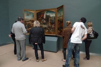 Наша группа в Брюсселе в Королевском музее искусств.